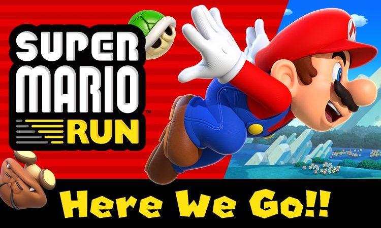 Старт Super Mario Run на Android