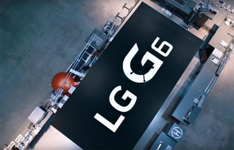 необычная реклама LG G6