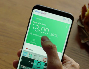Bixby и Galaxy S8 останутся вместе