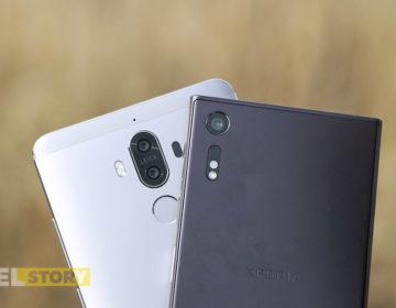 сравнение камер Huawei Mate 9 vs Sony Xperia XZ