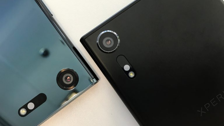 сравнение камер Xperia XZs vs Xperia XZ