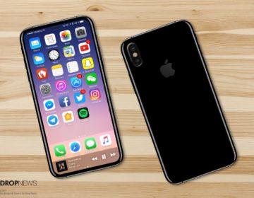 концепт iPhone X или iPhone 8