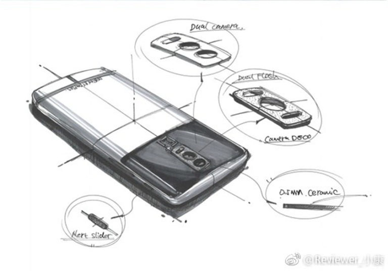 Двойная камера OnePlus 5 прототип
