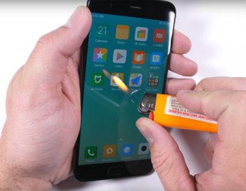 тест прочности Xiaomi Mi 6