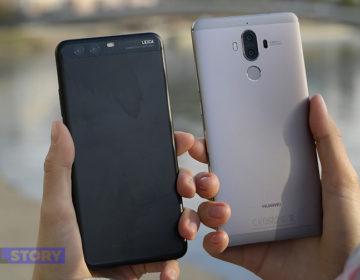 Сравнение камер Huawei Mate 9 и Huawei P10 Plus