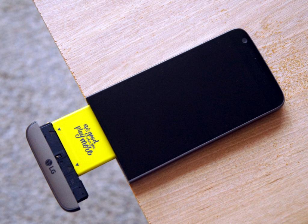 худшие решения, модульность LG G5