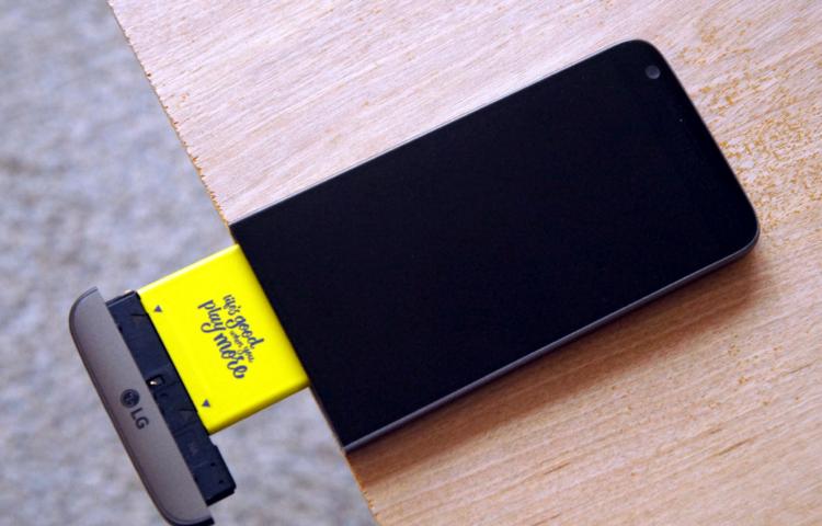 худшие решения, модульность LG G6