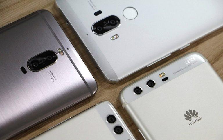 двойная камера, флагманы, Huawei P9, Huawei P10, Mate 9