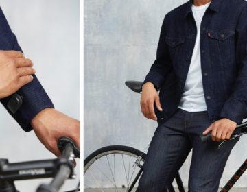 Google Levi's Commuter Trucker Jacket