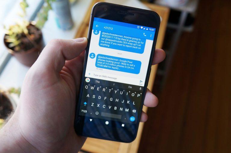 как поменять клавиатуру на Android смартфоне