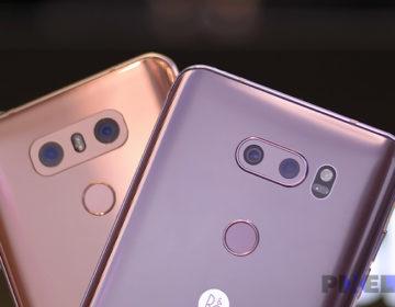 Сравнение камер LG V30 vs LG G6