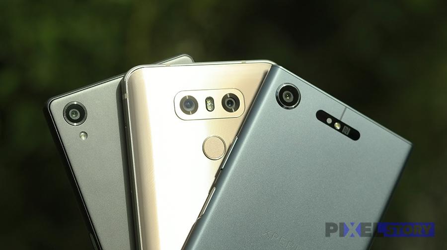 Сравнение камер Xperia XZ1, Xperia X и LG G6