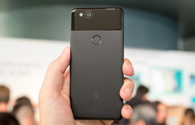 Дизайн Google Pixel 2