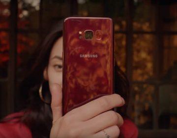Бургундия по-корейски. Samsung выпустили Galaxy S8 в красном цвете