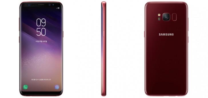 И вот сегодня Samsung официально представили Galaxy S8 в новом цвете на территории Южной Кореи.