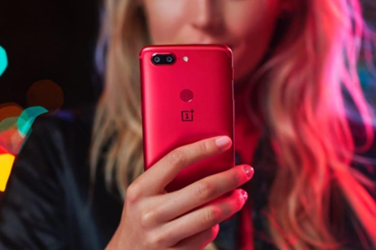 "OnePlus анонсировала яркий цвет ""Lava Red"" для Oneplus 5T"
