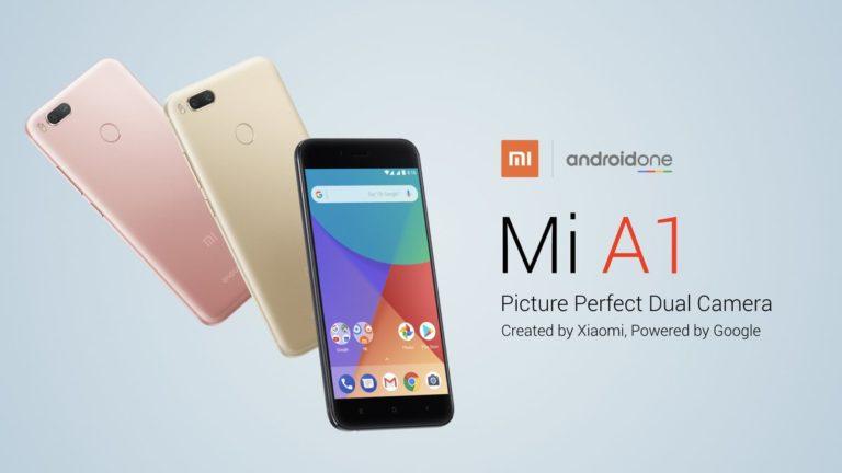 Xiaomi Mi A1 наконец-то получил Android 8.1 Oreo