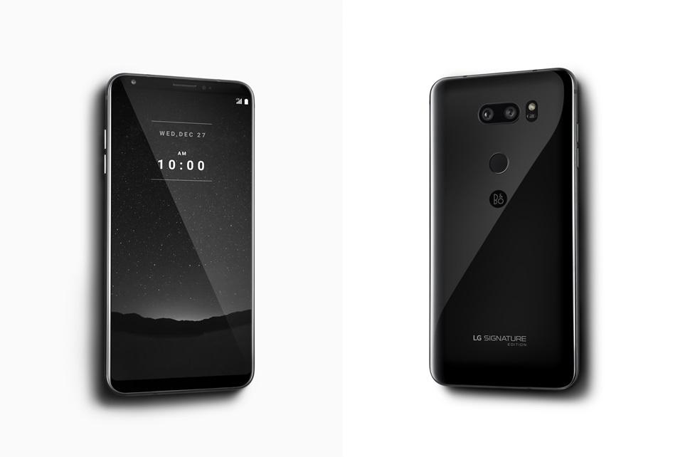 Что крутого в LG V30 Signature Edition