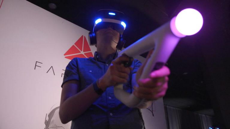 Playstation Aim - новое слово погружения в виртуальную реальность