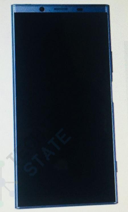 Рендер Sony Xperia XZ2 показывает безрамочный дизайн