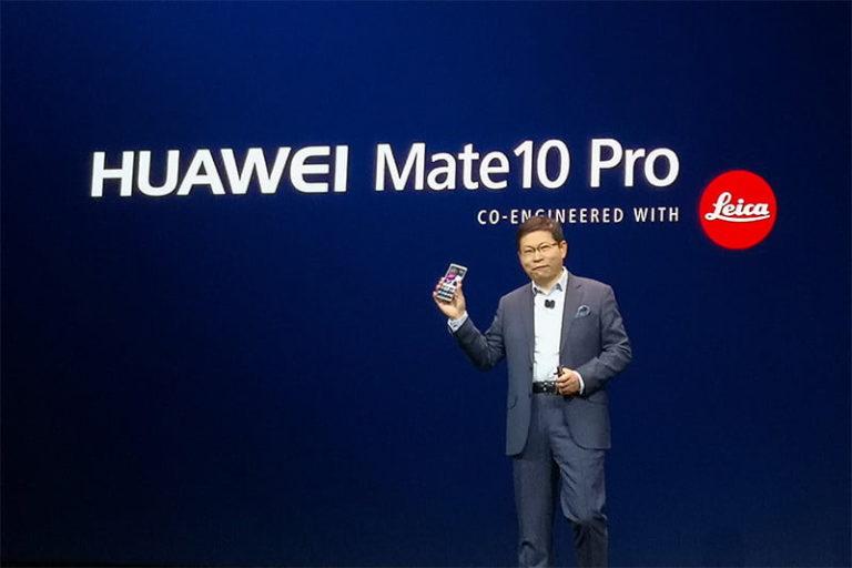 Пламенная речь главы Huawei на CES 2018