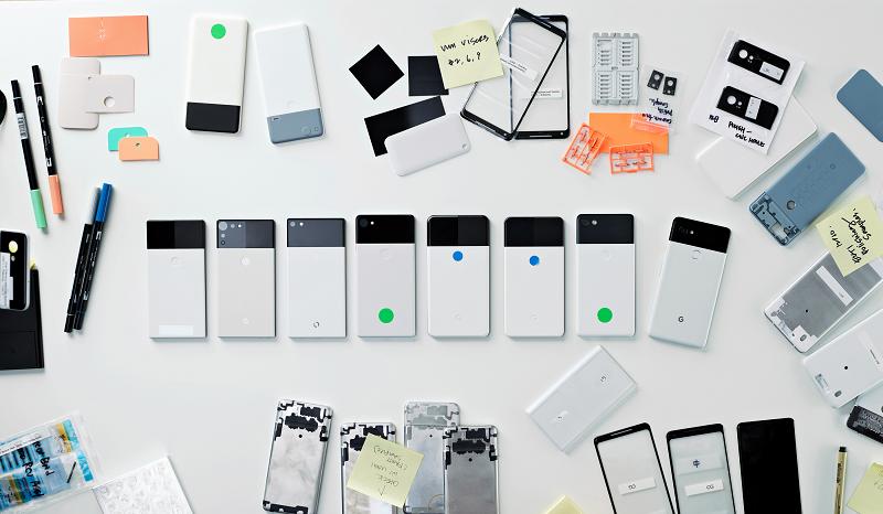 Google показали прототипы Pixel 2 в интерью с ведущим дизайнером