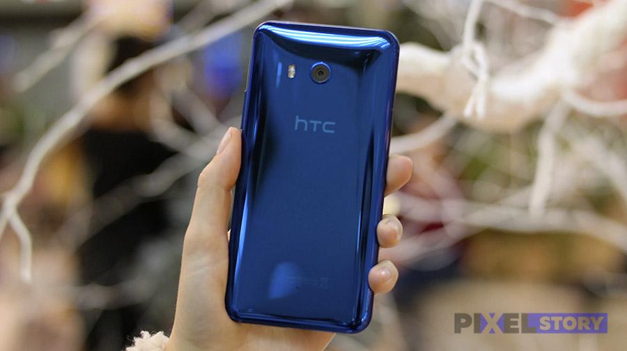 Обзор HTC U11 -дизайн и эргономика