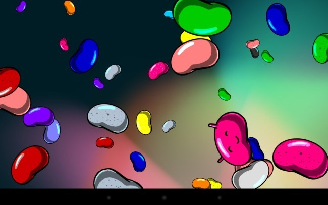 Пасхалка Android 4.1 - 4.3 Jelly Bean