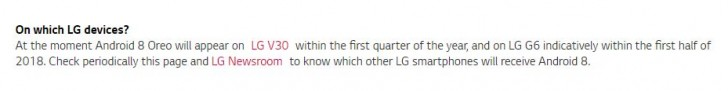 Все плохо: обновление Android Oreo для LG G6 поступит к концу июня