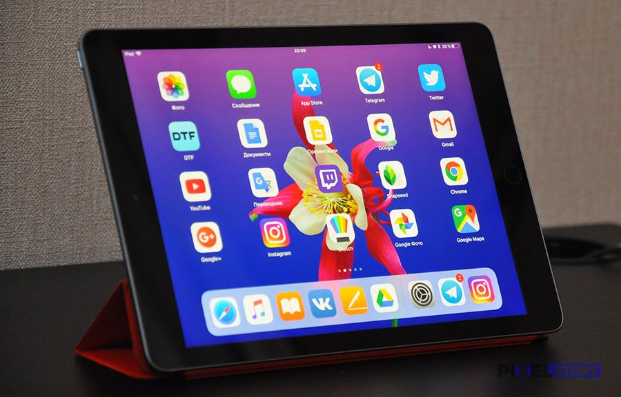 Дисплей у iPad 2017 хороший, но не отличный