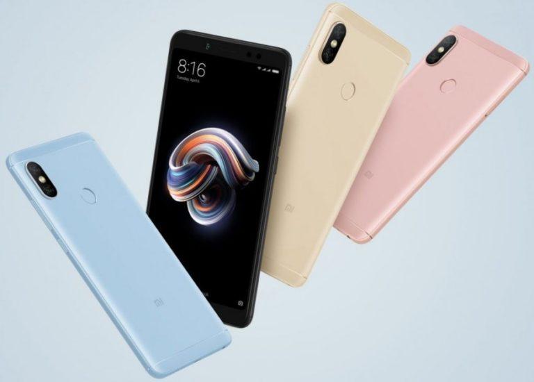 Xiaomi представили Redmi Note 5 и Redmi Note 5 Pro