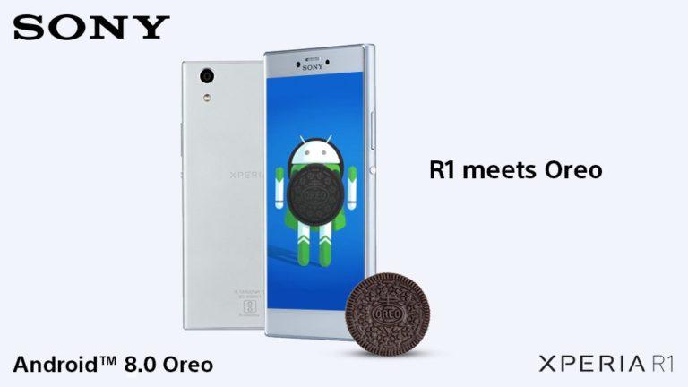 Sony Xperia R1 и R1 Plus получили Android 8.0 Oreo