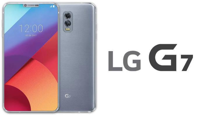 LG G7 рендер