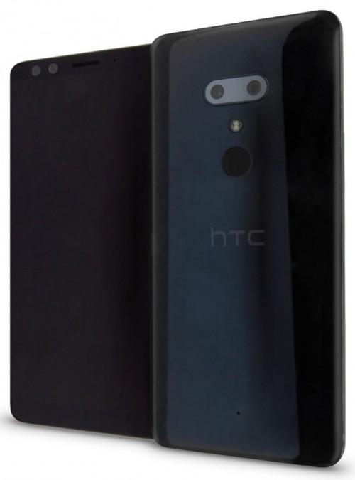 утекший рендер HTC U12+