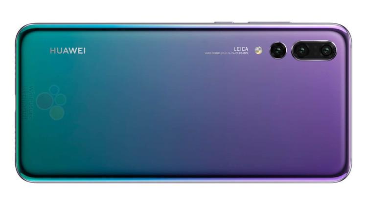 Huawei P20 Pro имеет 40-мегапиксельную камеру и 5-кратный зум
