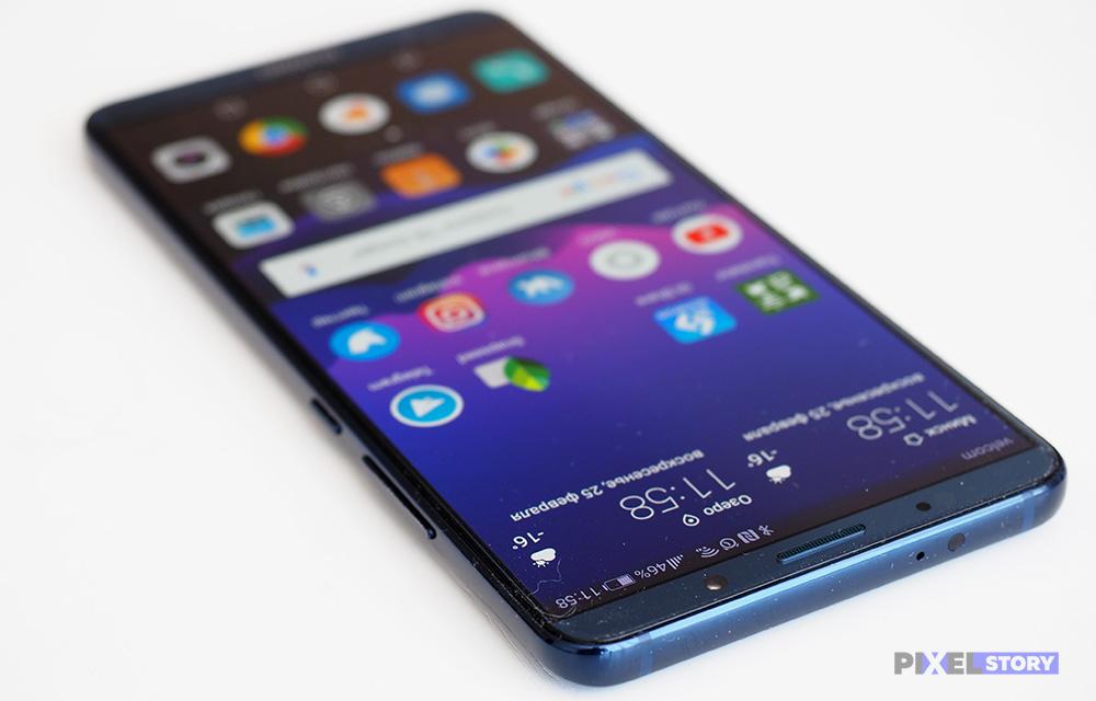 В Huawei Mate 20 установят гигантсткий AMOLED экран от Samsung