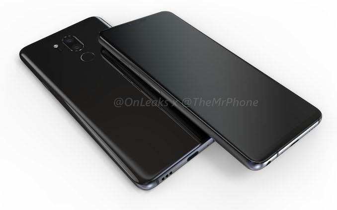 Утечка LG G7: RGBW экран и крутая камера