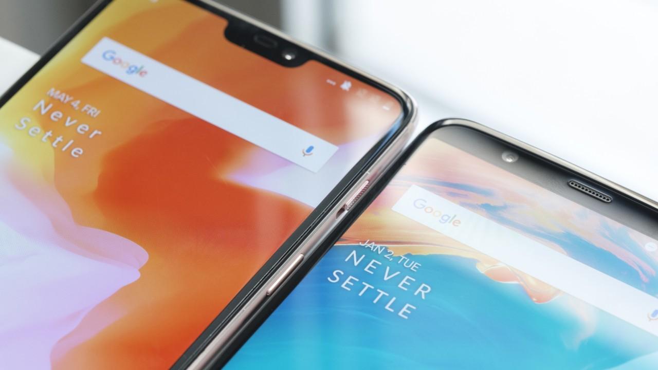 Сравнение OnePlus 6 и OnePlus 5T