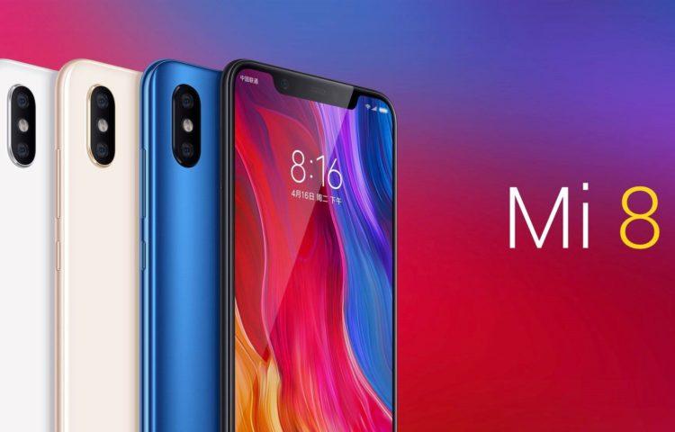Xiaomi продали более 1 миллиона смартфонов Mi 8 серии