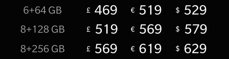 Цены и старт продаж OnePlus 6