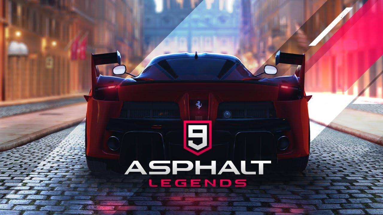 Asphalt 9: Legends — новые аркадныегонки от Gameloft