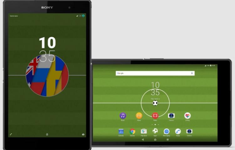 Football 2018 Xperia тема— самая актуальная тема для вашего смартфона Sony