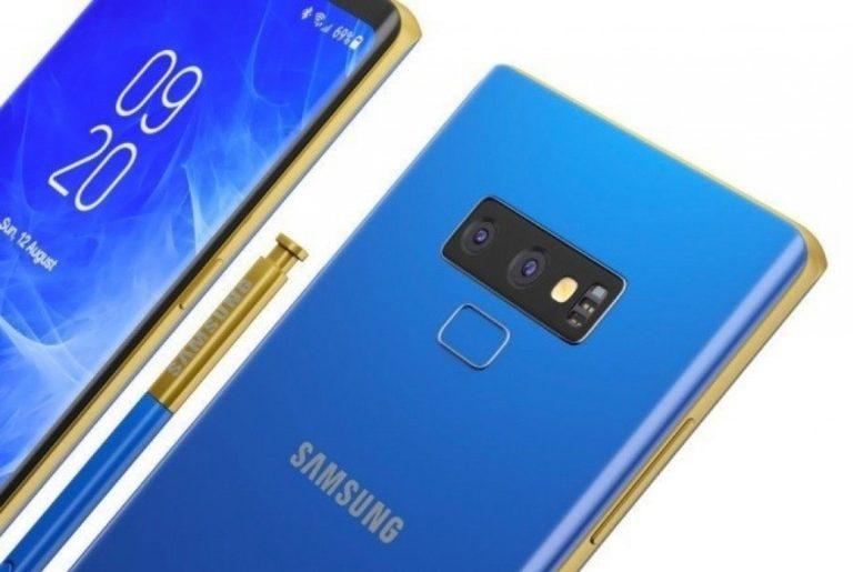 Утечка дизайна Samsung Galaxy Note 9 показывает все подробности