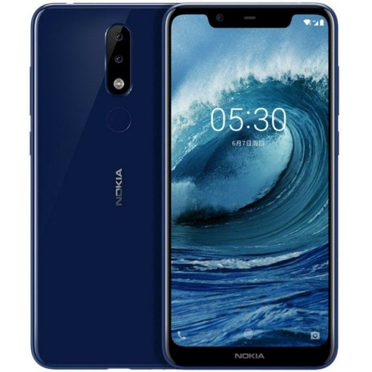 Утекшие рендеры Nokia X5 показывают широкую монобровь