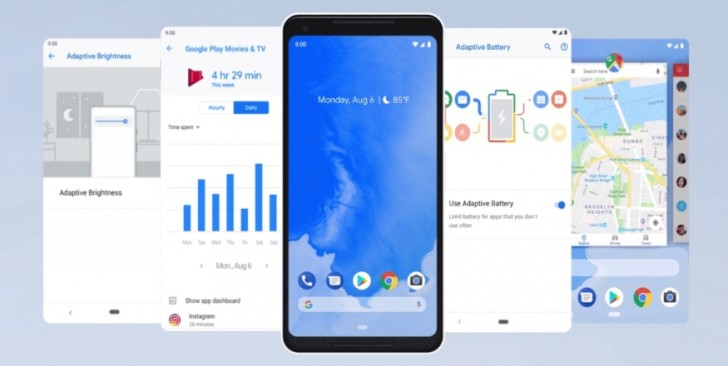 Google официально выпустили Android 9 Pie