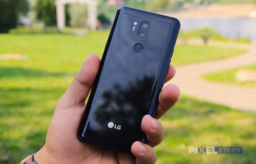 Обзор LG G7