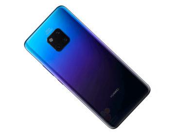 Слили реальные рендеры Huawei Mate 20 Pro