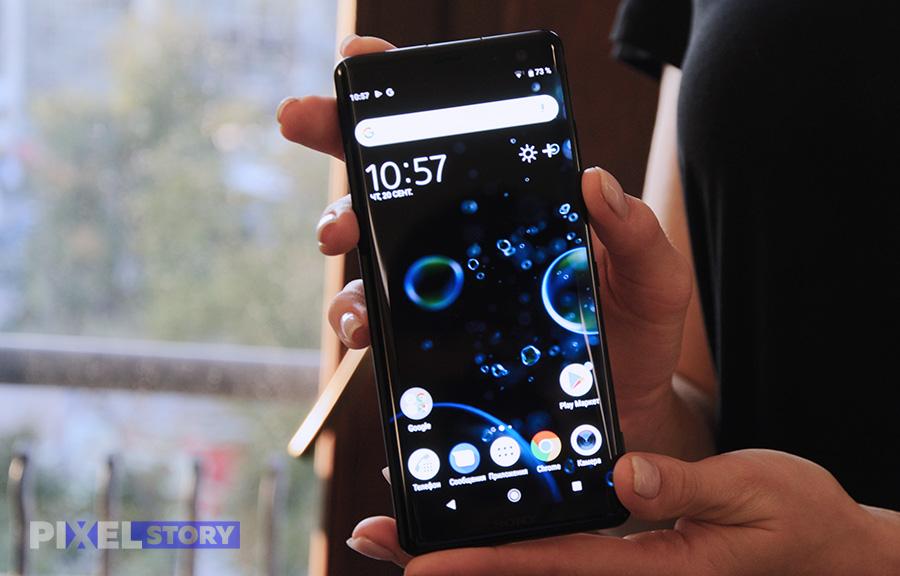 Первый взгляд на Sony Xperia XZ3