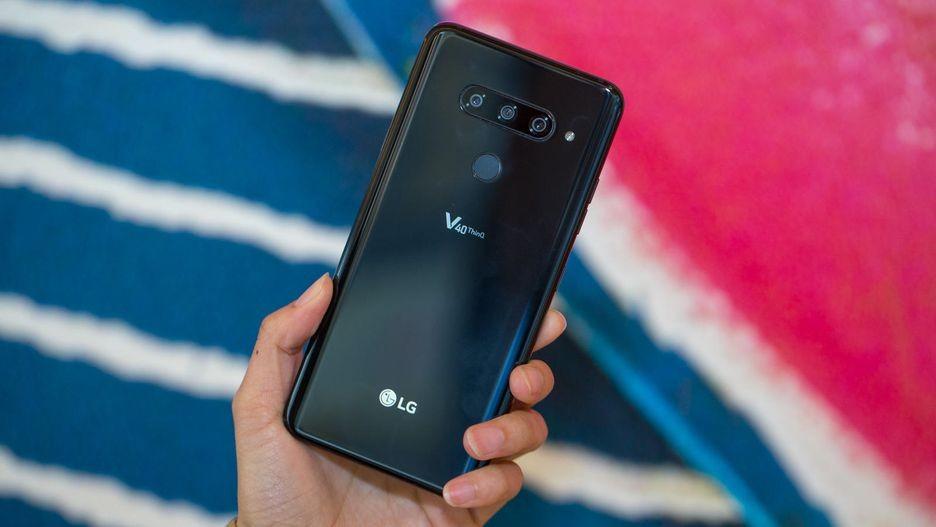 Анонс LG V40 ThinQ — тройная камера и большой OLED-экран