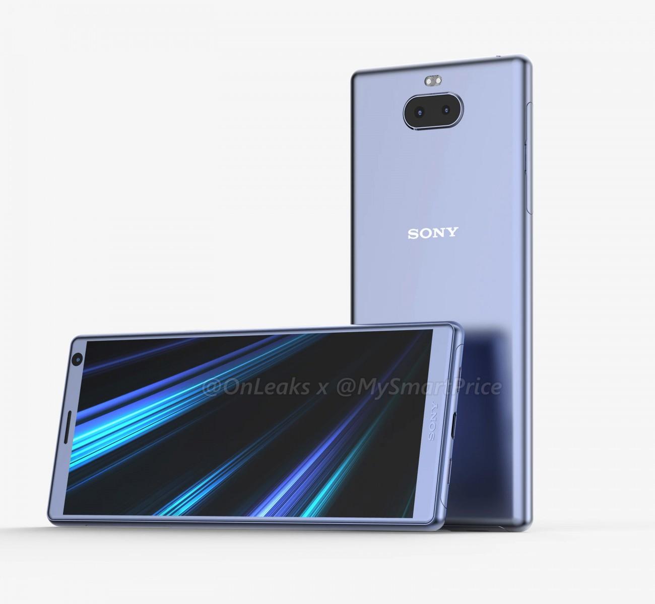 Утечка Sony Xperia XA3 — бюджетник с двойной камерой